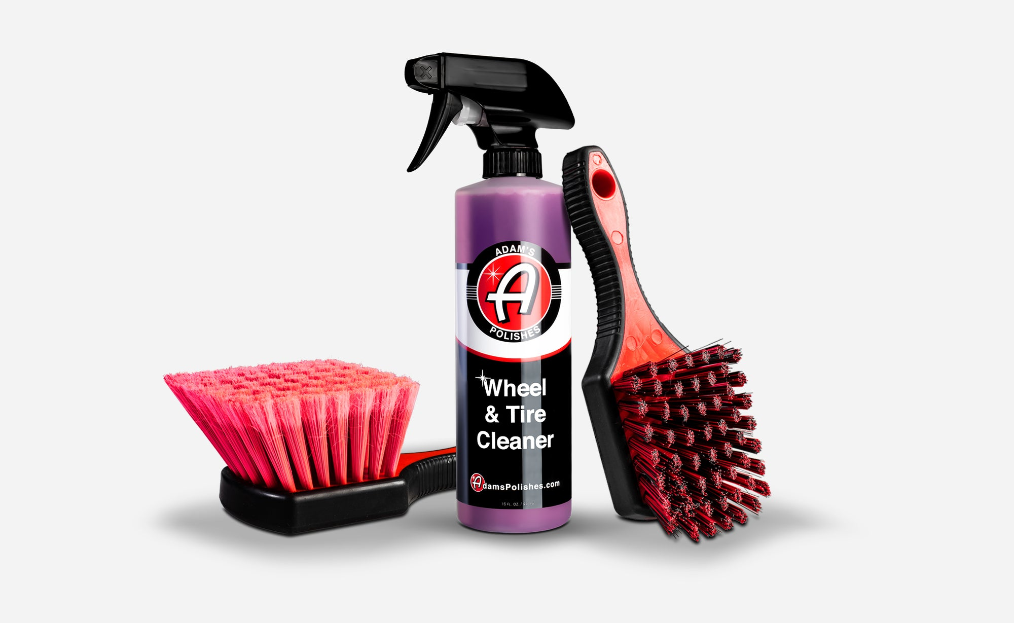Adam's Wheel & Tire Cleaner Trio