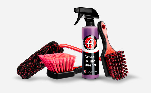 Adam's Wheel & Tire Cleaner Complete Kit