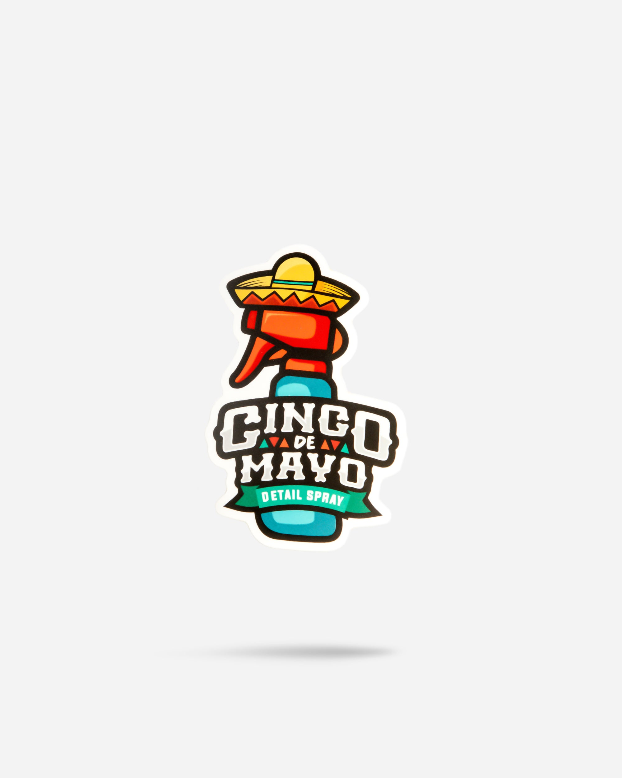 Cinco De Mayo Bottle Sticker