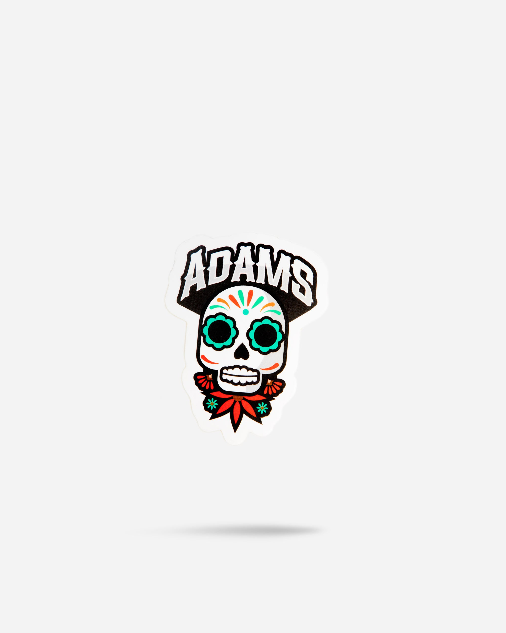 Adam's Cinco De Mayo Skull Sticker