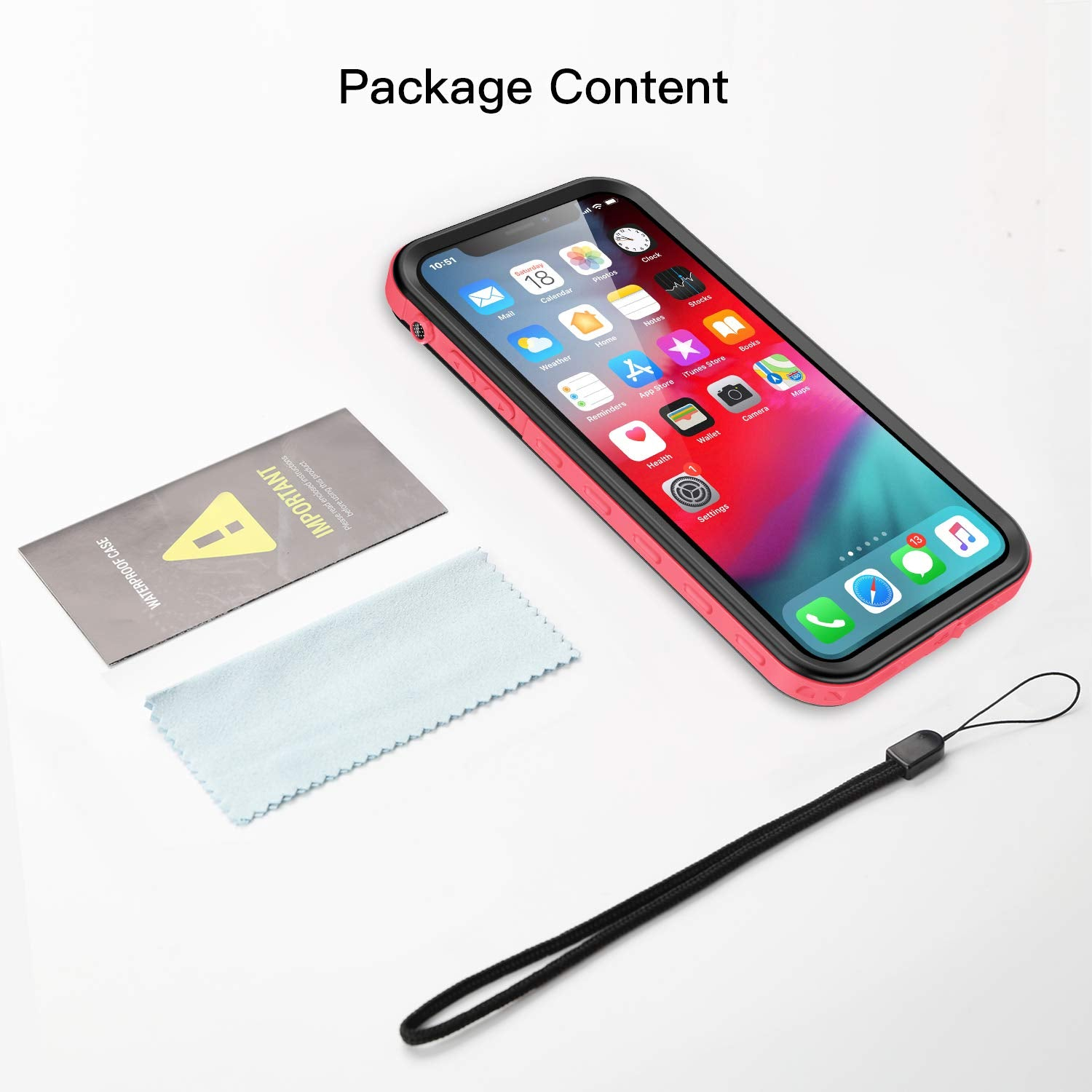 iPhone X/iPhone Xs Waterproof Case(A Series)