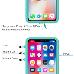 iPhone X/Xs Waterproof Case(Clear)