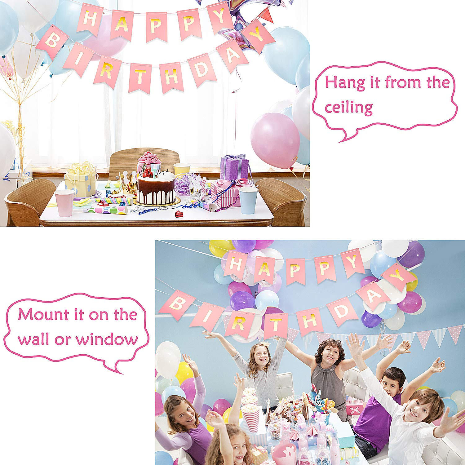 Unicorn Party Supplies for Girls