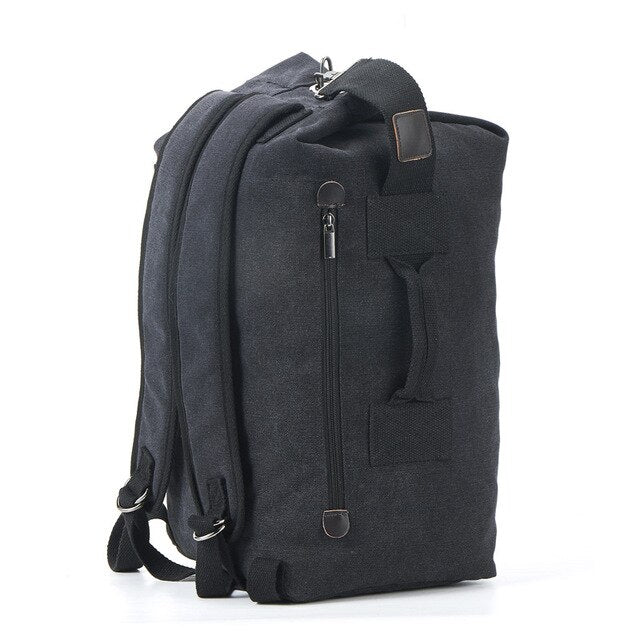 BRANDON Backpack-152401-The Canvas Bag™-2021 style Black-Medium 26x45x20cm-The Canvas Bag™