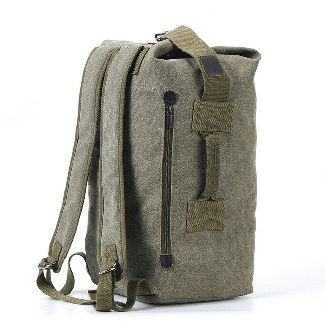 BRANDON Backpack-152401-The Canvas Bag™-2021 style Green-Medium 26x45x20cm-The Canvas Bag™