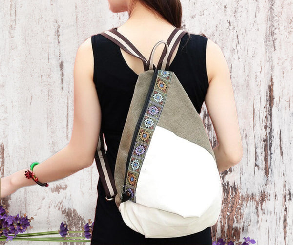 The Daya Patchwork Backpack | Dreamy Travels-The Canvas Bag™
