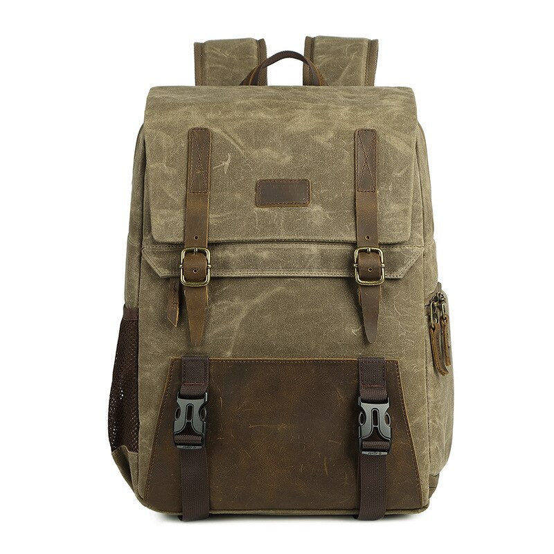 The Maisel Camera Backpack | Luxury Outdoor Champion-The Canvas Bag™