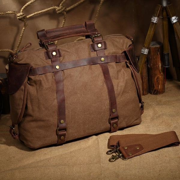 The Berlatti Travel Bag-The Canvas Bag™