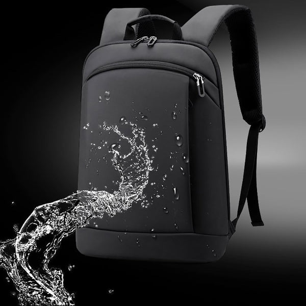 FRANKLYN Business Backpack | Ultralight & Super strong-152401-The Canvas Bag™-black-The Canvas Bag™