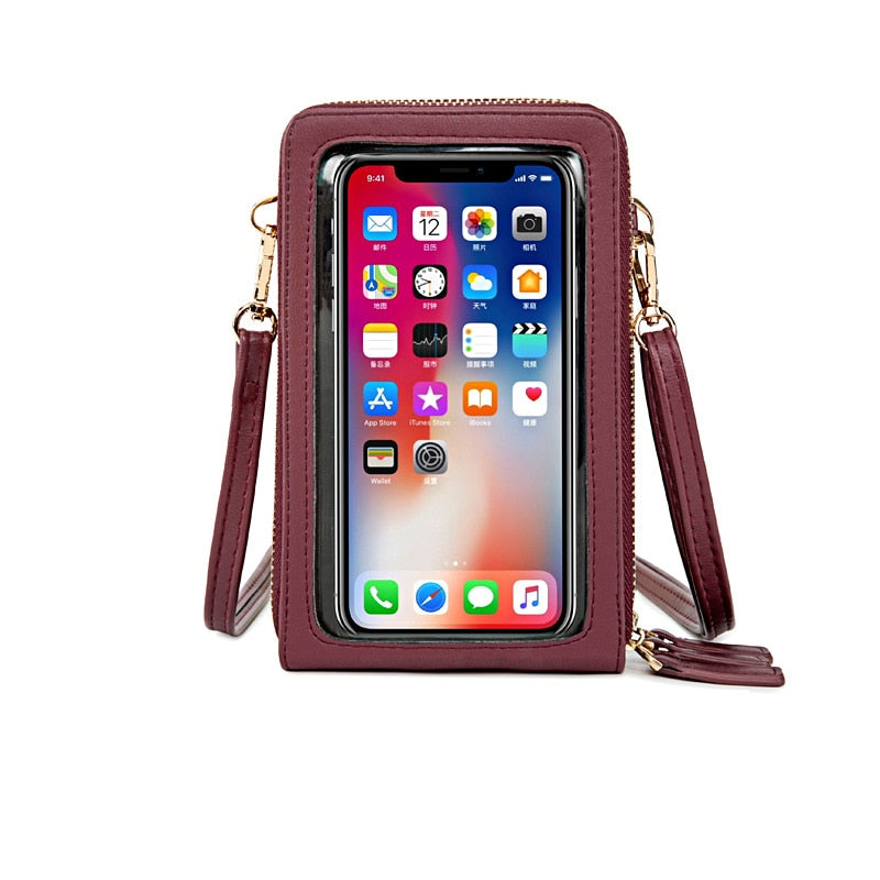 TRENZY Ladies Touch Screen Bag