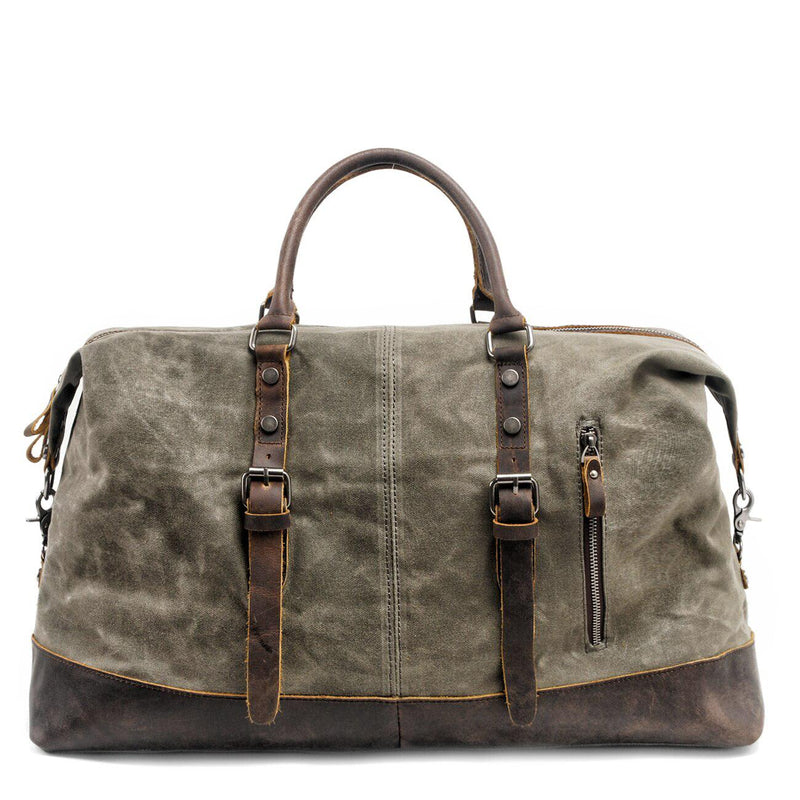 The ALDRIN Travel Bag-380430-The Canvas Bag™-Army Green-The Canvas Bag™