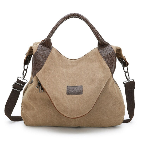 Vintage Canvas Crossbody | Spacious and Stylish