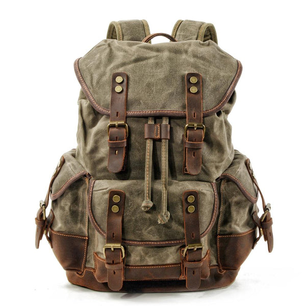 PATRICK Backpack | Vintage & Waterproof-152401-The Canvas Bag™-The Canvas Bag™