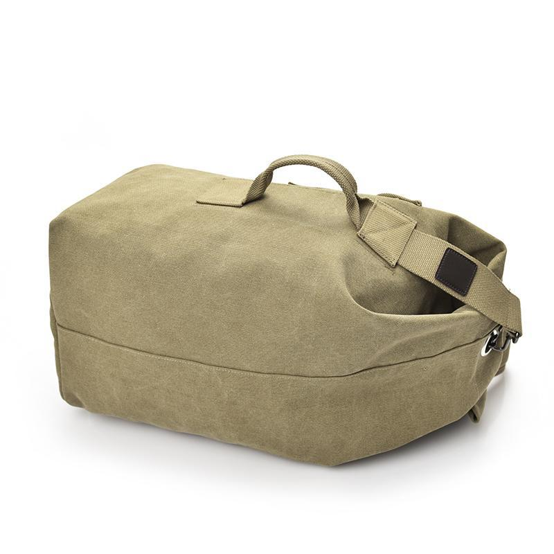 Vintage Duffle Backpack | No Nonsense Style-The Canvas Bag™