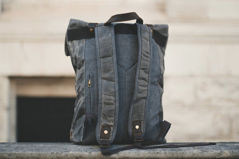 The NOMAD Backpack-152401-The CrossBuddy™-The Canvas Bag™