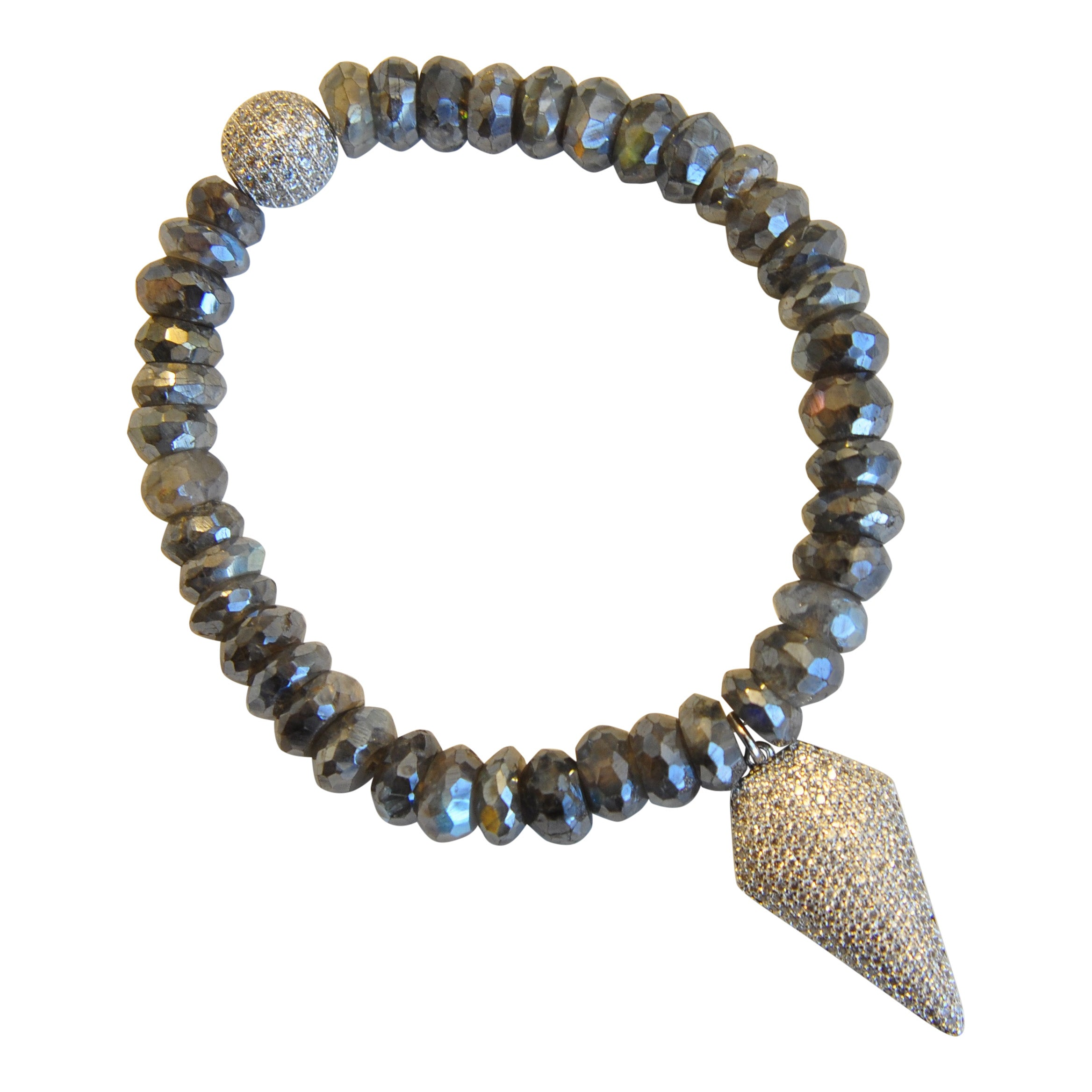 Labradorite with Micropave