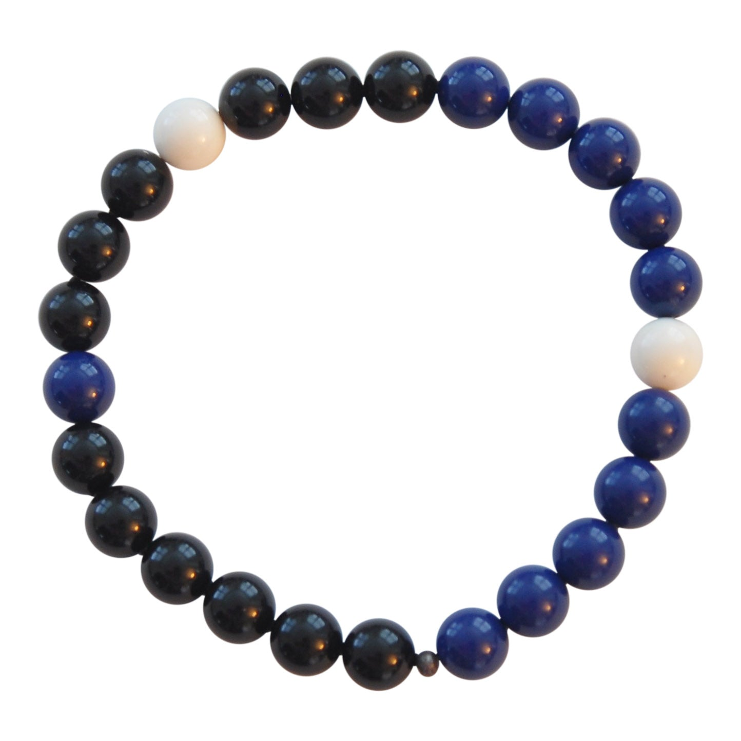 Mens Black & Blue Mix