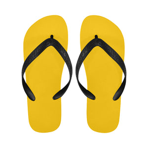 Womens' Designer Summer Bright Yellow Flip Flops