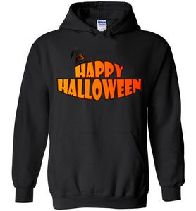 Plus Size Happy Halloween Unisex Heavy Blend Hoodie - Gildan