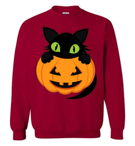 Plus Size Roomy Halloween Sweatshirt By Gildan - Unisex