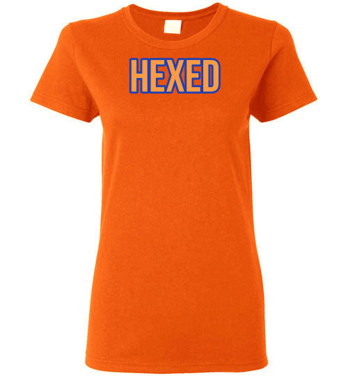 Halloween Hexed Witch Ladies Gildan Tee - Short Sleeve Graphic T-Shirt