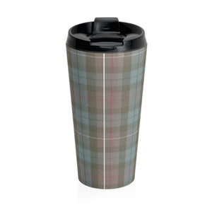 Sassy Sassenach Stainless Steel Travel Mug - 15oz. Insulated Vacuum Flask With Twist On Lid - Perfect Gift For Outlander Fans