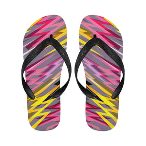 Women's Designer Colorful Lightning Flip Flops