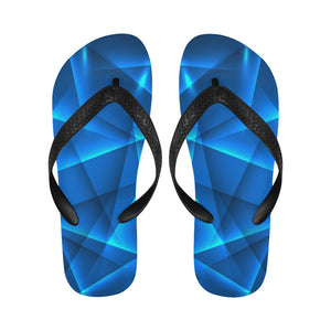 Women's Designer Blue Laser Lights Flip Flops