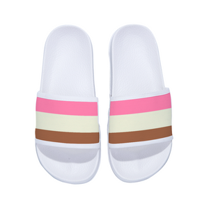 Neapolitan Designer Premium Cushioned Slides Flip Flops For Women