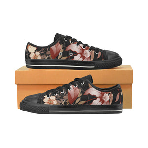 Womens Canvas Casual Aquila Shoes In Earth Floral Print