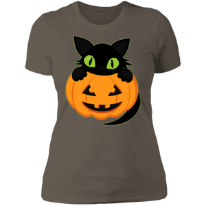 Plus Size Halloween Next Level Ladies' Boyfriend T-Shirt