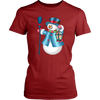 Frosty Snowman District Brand Women's T-Shirt