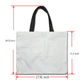 Yin Yang Designer Large Capacity Waterproof Canvas Tote Bag - Shopping Tote