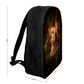 Designer Elf Art Schoolbag - DZC Bag - 17inch Laptop Backpack