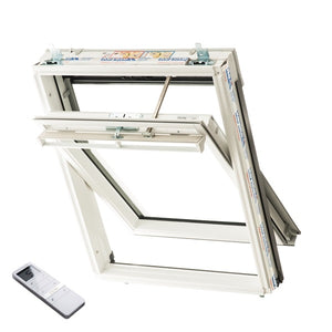 Keylite Roof Window - Centre Pivot Premium Electric