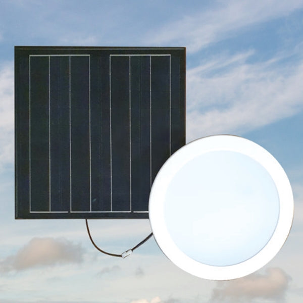 Solar LED Skylight Alternative