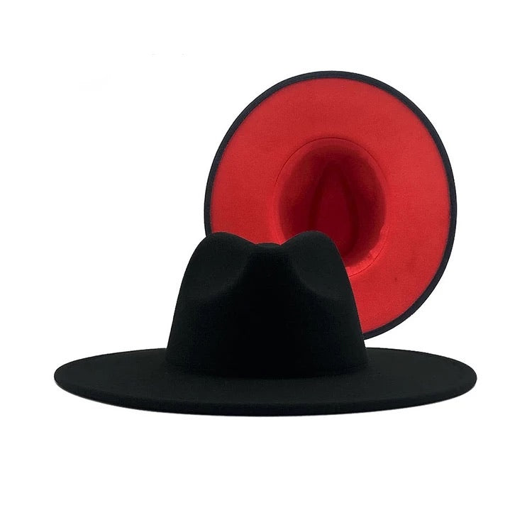 Red Bottom Fedora