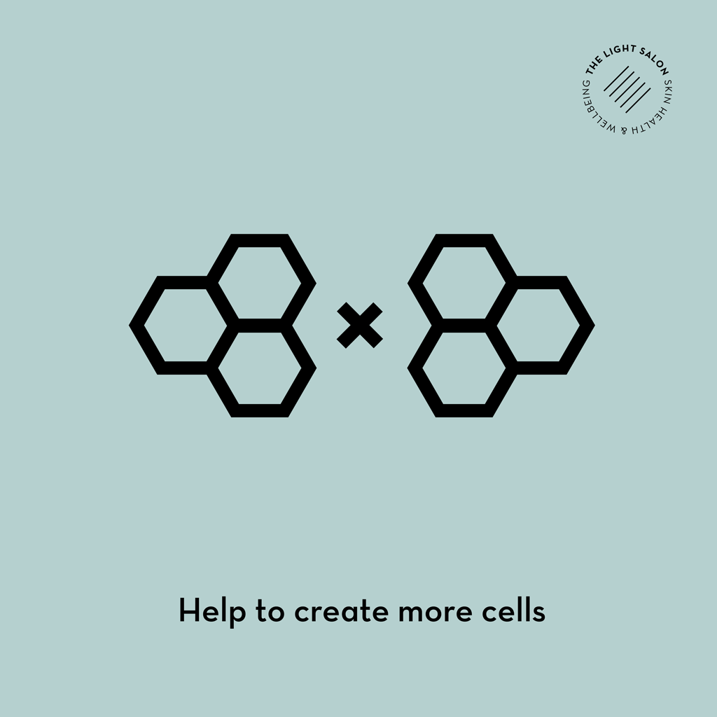 LED helps to create more cells