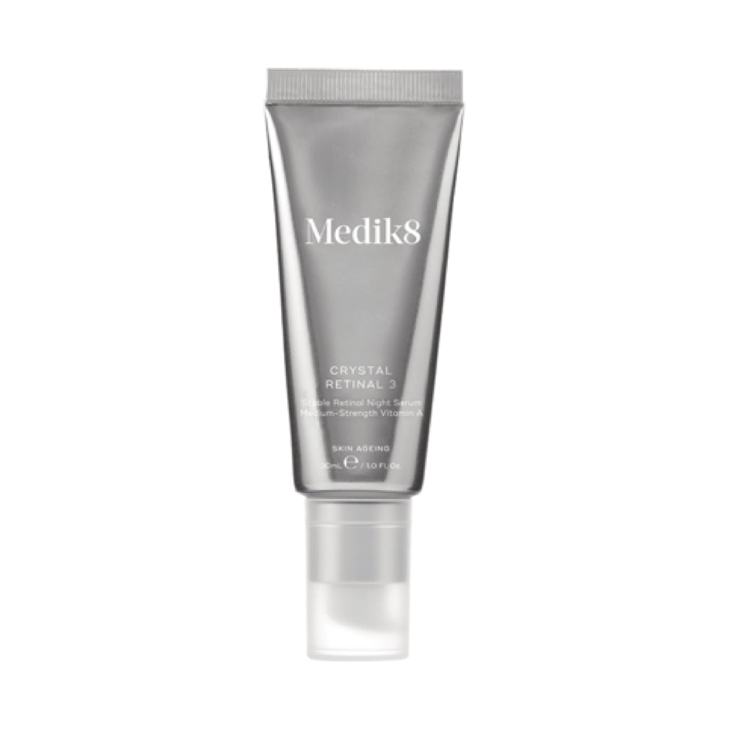 Medik8 Crystal Retinal™ Overnight Vitamin A Serum 3 x (30ml)