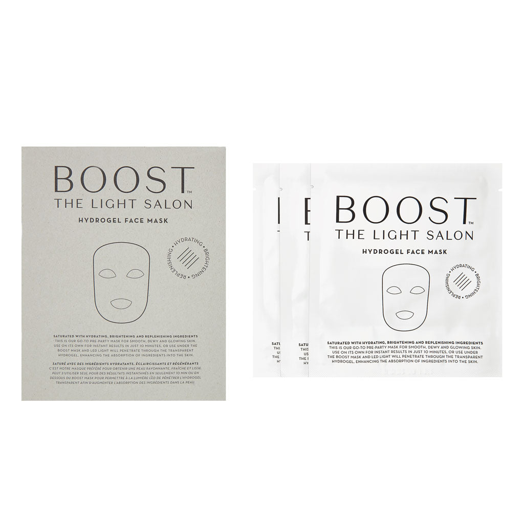 Boost Hydrogel Face Mask