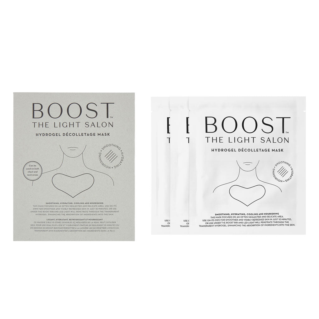 Boost Hydrogel Décolletage Mask