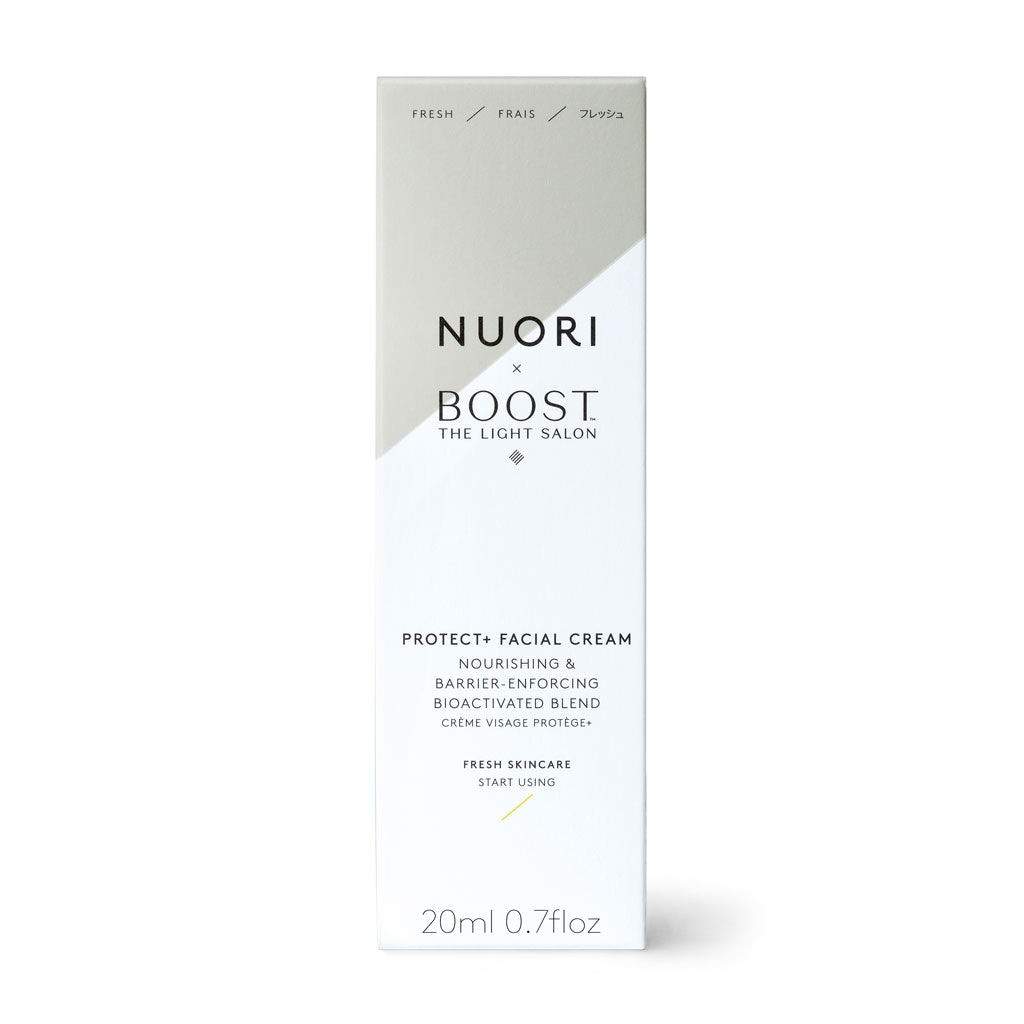 NUORI x The Light Salon Protect+ Facial Cream