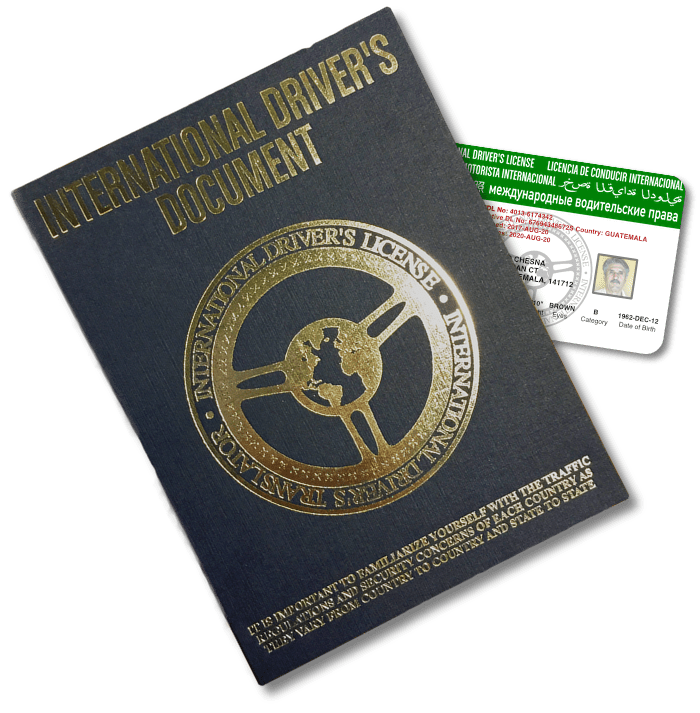 International Driver's License - No Hidden Charges - Free Shipping - 24 Hour Turn-Around