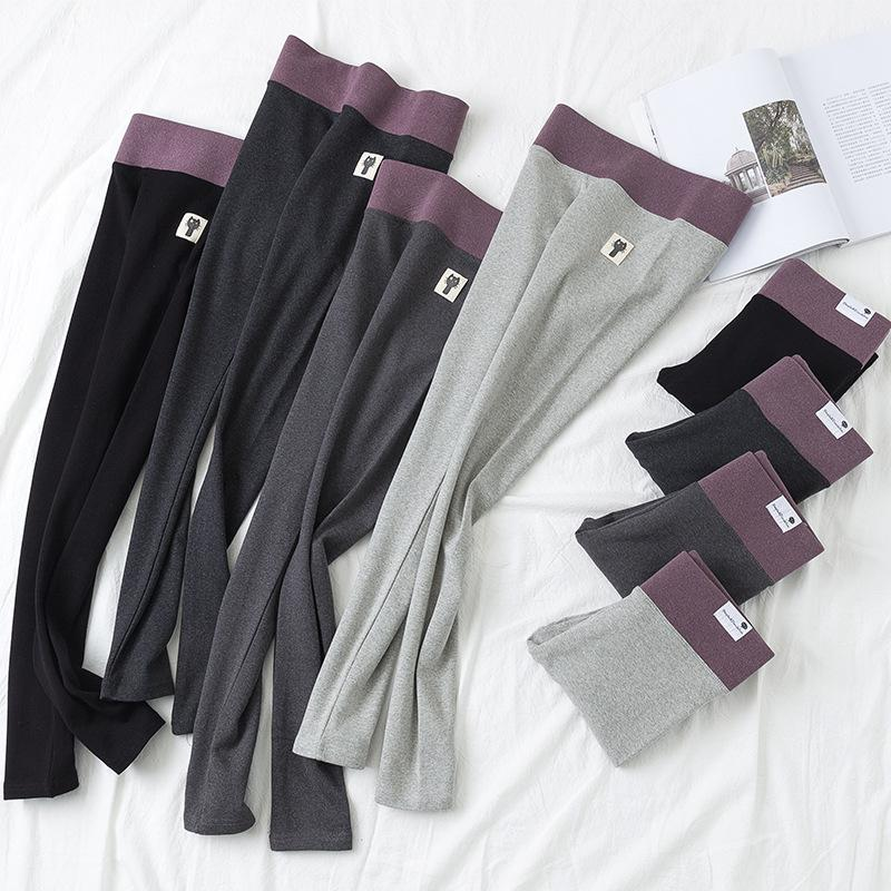 Fall/Winter Casual Fur Warm Cotton 100% Functional Mention Hip Tights Leggings For Women