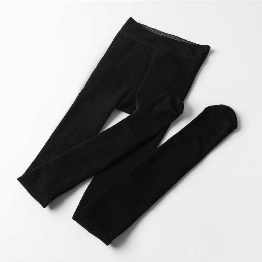 Fall/Winter Warm Wool blend Cotton 80% High Elastic Mention Hip Tights Leggings For Women