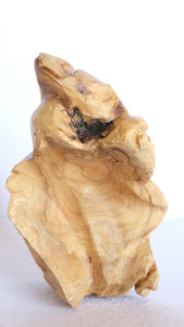 Mini Handcrafted Sculpture from Reclaimed Olive Wood