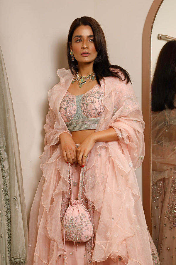 Lehenga And Choli With Dupatta