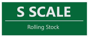 S Scale Rolling Stock