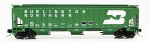 N 4750 Cuft Hopper - Burlington Northern