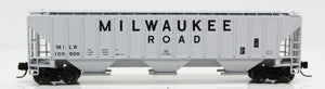 N 4740 Cuft Hopper - Milwaukee Road (Gray)